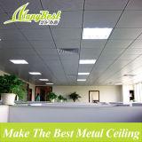 Endecha artística en el techo de aluminio