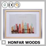 Nordische Art-normaler hölzerner Farben-Foto-Rahmen