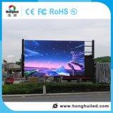 Яркость RGB P10 напольного разрешения экрана высокая делает рекламировать водостотьким индикацию СИД