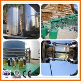 Het zwarte Recycling van de Smeerolie van de Motor van de Motor van het Afval Aan de Machine van de Raffinage van de Olie van de Diesel Rang van de Benzine
