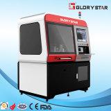 Máquina de estaca cheia do laser da fibra do CNC da proteção do cerco do tamanho pequeno