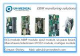 Módulo invasor dual médico de la presión arterial para el monitor paciente