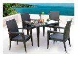 Muebles determinados de cena al aire libre baratos del jardín de vector de cena de la rota