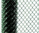 Frontière de sécurité provisoire enduite galvanisée ou de PVC de construction de chaîne de maillon