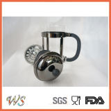 POT di rame nero classico del tè & del caffè della pressa del caffè dell'acciaio inossidabile del creatore di caffè della pressa del francese Wschsy002