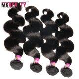 Partes indianas baratas do cabelo do Virgin de Remy da fábrica de Msbeauty