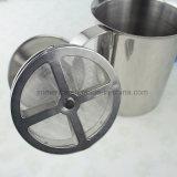 ベストセラーの商業ステンレス鋼の手動ミルクFrother