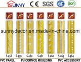 PU Carved Plafond Moulage / Polyuréthane Classique Corniche / Décoration intérieure et intérieure