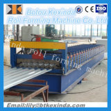 Azulejo acanalado galvanizado material para techos de la hoja de acero 780 que hace la máquina