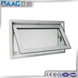Finestra di vetro di alluminio bianca rivestita della tenda della stoffa per tendine della polvere doppia