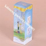 Caixa plástica do pacote do animal de estimação do espaço livre da boa qualidade 2017 para a embalagem do frasco de bebê (caixa plástica do pacote)