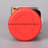 Interruttore di pulsante del fungo di serie di La118m