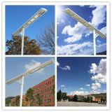 Populärer hoher Lumen-Fühler-Solarim freienbeleuchtung-Pole-Lampe