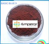 Grundlegende grundlegende blaue Farbe des Blau-9 für Papier und Leder