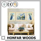 Картинная рамка искусствоа стены деревянная/картинная рамка домашнего земельного участка деревянная