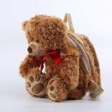 El oso suave de moda de la felpa del precio de fábrica juega el morral