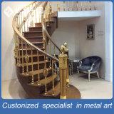 別荘のための新式の工場製造の金ステンレス製の手すりかホテルまたはホーム