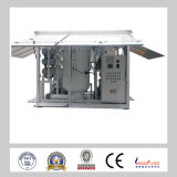 Macchina materiale di trattamento dell'olio del trasformatore del sistema di alto vuoto della fase del acciaio al carbonio di industria di potere di Zja doppia