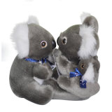 Assis Vie Sauvage Gibala Grenouille Teddy Bear Soft Peluche Peluches
