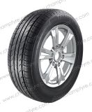 크기의 광범위에 있는 차 타이어의 각종 유형
