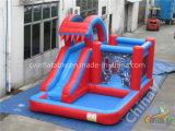 子供のための小さい屋外の膨脹可能な水スライドのプール