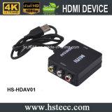 Convertisseur neuf HDMI de RCA TVHD au convertisseur de vidéo de poids du commerce