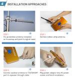 Kit casero del amplificador del UMTS del suplemento 3G del repetidor del aumentador de presión de la señal del teléfono móvil de WCDMA 2100MHz