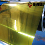 Hoja de aluminio durable de ACP Espejo Negro para la construcción Fasade Decoración