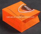 PVC 손잡이를 가진 큰 크기 장식용 명확한 선물 부대 부대 비닐 봉투