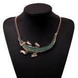Oorring 2 van de halsband de PCs Geplaatste Retro Juwelen van de Manier van de Leeswijzer van het Muntstuk van de Stijl