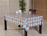 Oilproof, Tablecloth transparente impresso PVC descartável, impermeável da caraterística