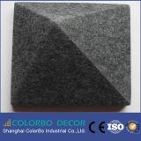 Écran antibruit de tissu décoratif de fibre de polyester de salle de réunion