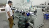 Máquina automatizada del bordado con 10 pulgadas de pantalla táctil