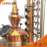 まだ蒸気暖房の銅アルコール蒸留塔のウォッカのウィスキー装置