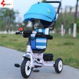 子供の三輪車のカートのバギー