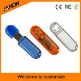Movimentação plástica da pena do USB da movimentação por atacado do flash do USB