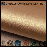 Tela metálica del vinilo de la superficie PVC/PU para la tapicería y señora Bags del sofá/de los muebles