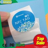 13.56MHz Tag passivo da etiqueta do HF NTAG213/215/216 RFID NFC