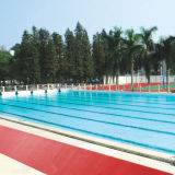 Esteira antiderrapante da esteira do PVC S da alta qualidade para o barramento para a piscina