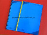 Hoja caliente del PVC de la venta para la cubierta de libro obligatoria del PVC de la cubierta