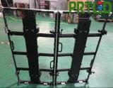 P3.91、P4.81、P5.95、P6.25のための角度の調節装置が付いているダイカストで形造るアルミニウムによって曲げられるLED表示パネル
