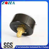 ガスのために取付けるか、または油圧小型圧力計