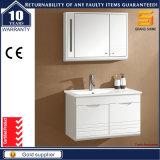 Eitelkeits-Gerät des Glanz-weißes angestrichenes Fußboden-stehendes Badezimmer-LED