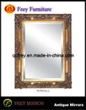 Het Europese Frame van de Spiegel van de Muur van het Ontwerp Stevige Houten met Glas