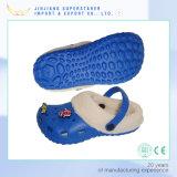 Clog ЕВА шармов сандалий детей малышей зимы Holey с шерстью