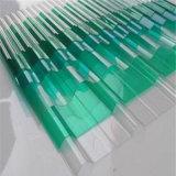 GE Lexanの半透明なプラスチック温室のための紫外線上塗を施してあるの波形の屋根のパネル