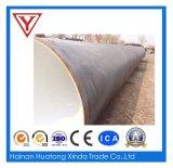 Tubo de aço espiral de bitument anti-corrosão de diâmetro grande