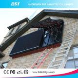 前部アクセスP5、P6、P8、P10の企業の広告のための1r1g1b屋外のフルカラーのLED表示