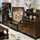 أسلوب [أمريكن] خشبيّ تلفزيون خزانة لأنّ [هوم وفّيس فورنيتثر] [أس801]