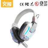 Écouteur de PC de Huozhong Hz-106 avec le bon écouteur bas de jeux avec le microphone